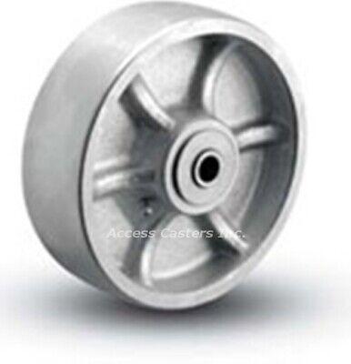 6er1-2 Bassick Er Rigid Plate Caster 6 X 2 Steel Wheel 1500 Lbs Capacity