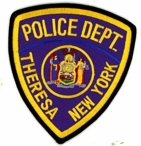NEW YORK NY THERESA POLICE NEW PATCH SHERIFF