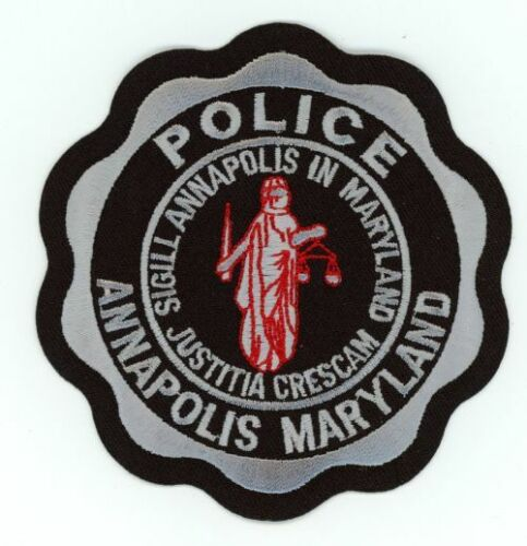MARYLAND MD ANNAPOLIS POLICE SUBDUED SWAT STYLE NEW PATCH SHERIFF
