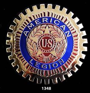 CAR-GRILLE-EMBLEM-BADGES-AMERICAN-LEGION