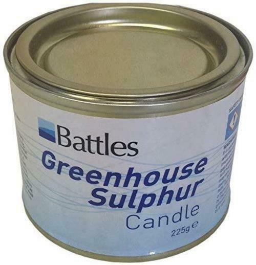 Sulphur Convenient Candles for Eliminating Troublesome Pests and Spores - 225g