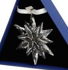 2011 Swarovski~Snowflake STAR Annual Christmas ORNAMENT ...