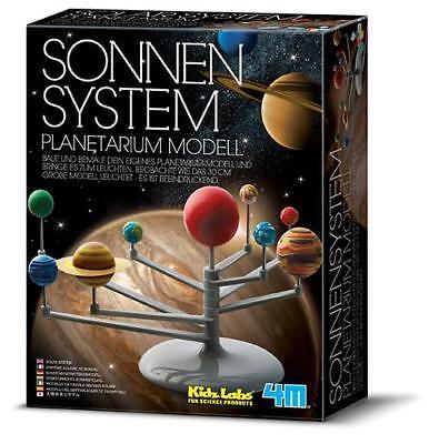 Neu Sonnensystem Planetarium Modell Saturnring Wissenschaft Leuchtfarbe 3D!399