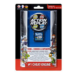 GENUINE NEW DATEL ACTION REPLAY CHEAT CARTRIDGE DS DS LITE DSI DSI XL 3DS