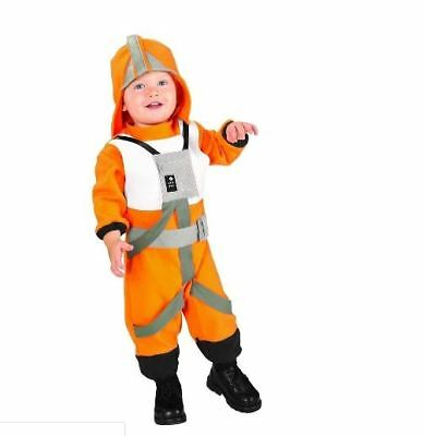 X-Wing Fighter Pilot Costume Star Wars Baby Toddler Luke Skywalker Halloween WDW