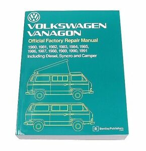 Volkswagen Transporter Vanagon Repair Manual Bentley VW8000148