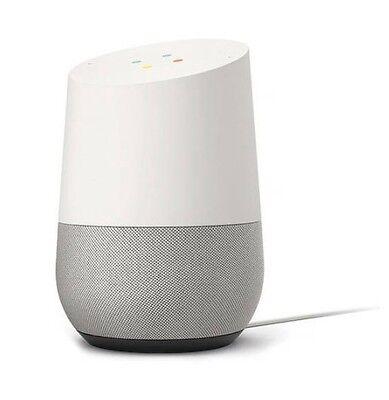 Google Home GA3A00417A14 Google Home Personal Assistant - White Slate