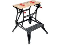 Workbench. Black & Decker Workmate. New. Vice, bench tool stand, sawhorse.