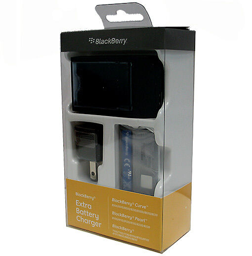 Blackberry ACC-3394-301 Extra Battery Charger W Battery Curve 8500 8520 8530