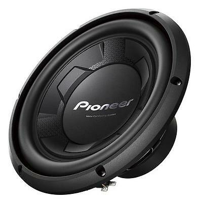 "Pioneer TS-W106M 1100 W Max 10"" Single 4 Ohm Stereo Car Audio Subwoofer"