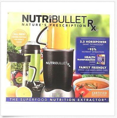 Used, NutriBullet RX 1700-Watt 45oz Food Juice Blender Nutri-Bullet N17-1001 10 Pieces for sale  Bronx