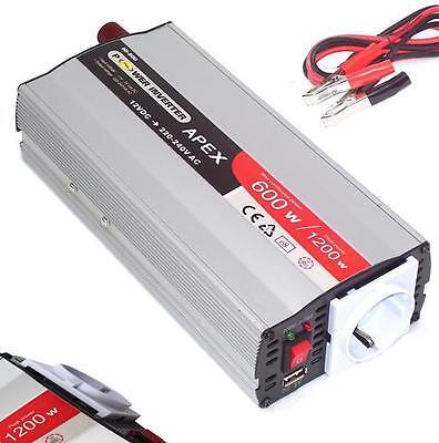 06149 Spannungswandler 600W 1200W USB 12V Stromwandler… |