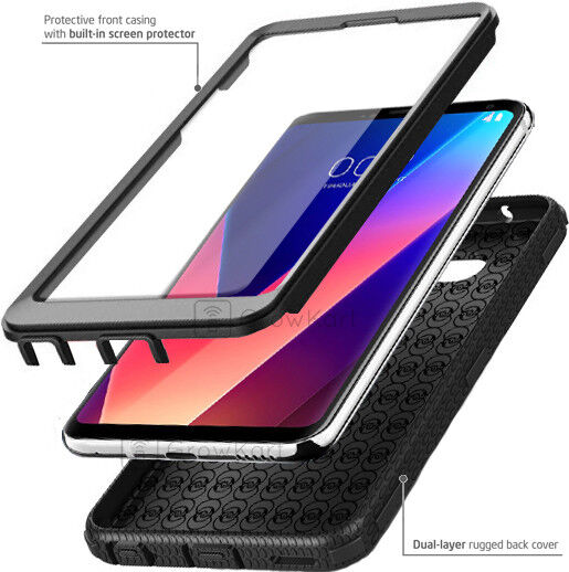 REFINED SHOCKPROOF RUGGED ARMOR Hard Phone Case Cover +BUILT