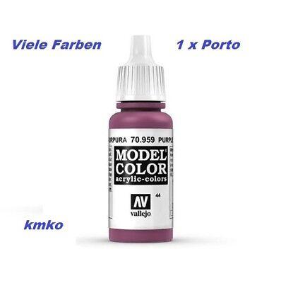 Vallejo 044 70.959 Rotviolett Purple 17ml 27,06 €/100ml
