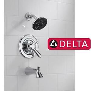 NEW DELTA LAHARA SHOWER FAUCET CHROME - BATHROOM 108882322