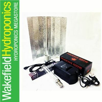 600W GROW LIGHT KIT  PLASTIC BALLAST HYDROPONICS