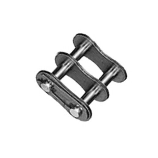 #50-2  (Qty 5) Roller Chain Connecting Link Pack Double Strand NEW