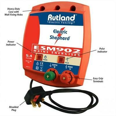 Product Code 4431076 Rutland Esm 902 Mains Energiser Fencer 09