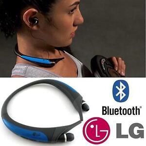 REFURB TONE ACTIVE WIRELESS HEADSET HEADPHONES Bluetooth Stereo BLUE 110570282