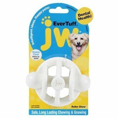 JW Ever Tuff Nylon RollerChew Chicken Flavour Medium Dog Toy Grooming