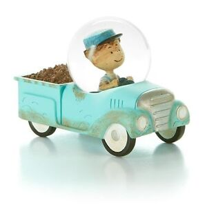 Peanuts Gallery Pig Pen Driving Truck Figurine *NEW*