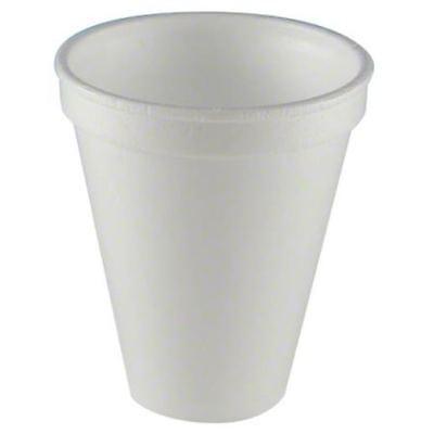 Wincup White Foam Cup (Non-Cracking Coffee Cups?  WinCup Rugged + Sturdy White Foam Cups, 8 oz)