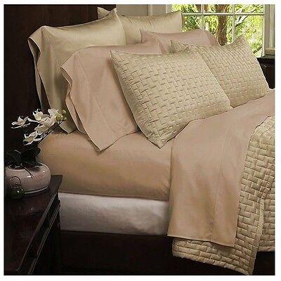 Bamboo Comfort 4-Piece Sheet Set 1800 Series Bedding - EXTRA SOFT DEEP SHEETS