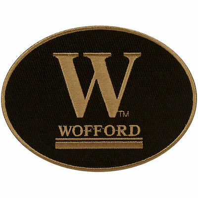 Repositionable Stick - NEW! Wofford Terriers Peel & Stick Repositionable Embroidered Patch