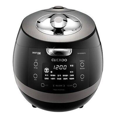 CUCKOO 6 Cups Smart IH Pressure Rice Cooker CRP-BHXB0660FD Kor/Chi Voice 220V