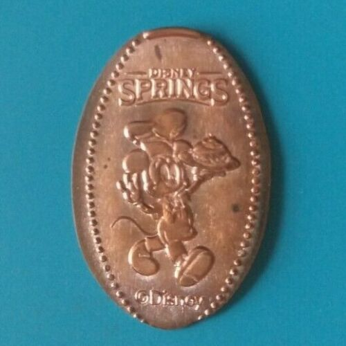 CHEF MICKEY MOUSE HOLDING FOOD Disney Springs Florida Elongated Copper Penny