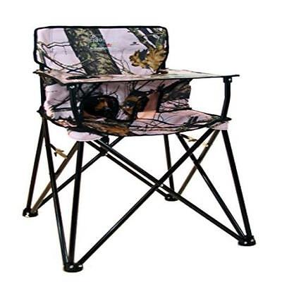 Ciao Baby Portable High Chair, Pink Camo No Assembly Required Lightweight - Camo High Chair