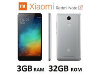 Redmi Note 3 5.5 inch FHD 3gb 32gb 13MP Dual SIM Unlocked