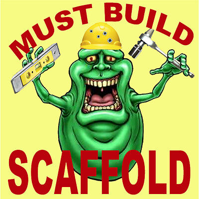 Hard Hat Sticker Build Scaffold Union Cc-19