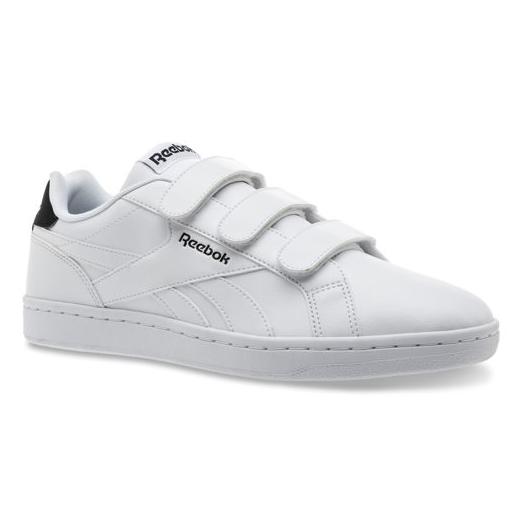 4ec6b01fba8ce3 Reebok Classics Royal Complete Velcro Shoes Sneakers White Black ...