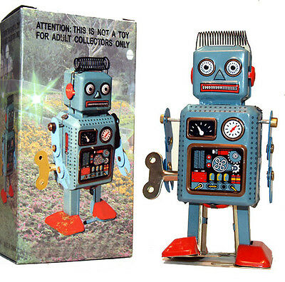 Tin Toy Radar Robot Wind Up Sale! on Rummage