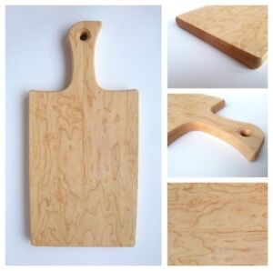 Artisan Birds Eye Serving Cheese Cutting Board Hand Crafted