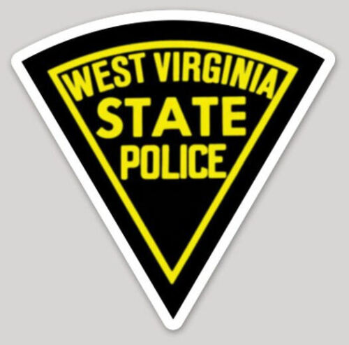 4 Inch Non-Reflective West Virginia State Police Logo Sticker Decal