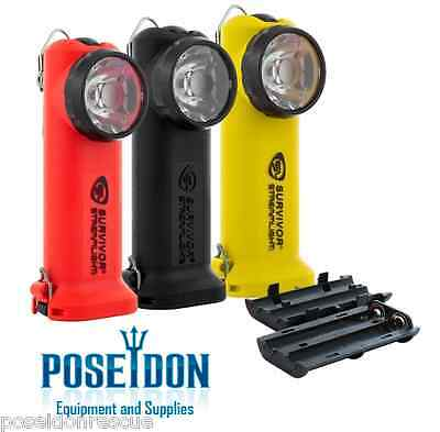 YELLOW Streamlight Survivor LED, Low Profile, C4 LED, Flashlight w/ Batteries