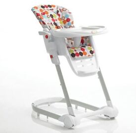 East Coast Dine & Recline Highchair. Like New.