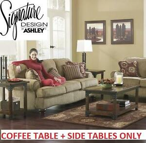 NEW* SDBA 3 PC COFFEE TABLE SET - 124492570 - SIGNATURE DESIGN BY ASHLEY PENROSE-PORTLAND 3PC COFFEE TABLE SET