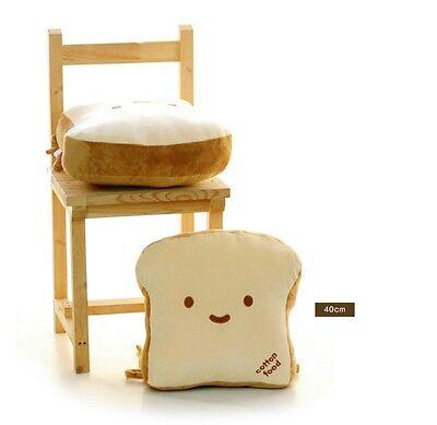 Bread Cushion Cotton Food Pillow 40cm Room Bedding Car Interior Home Deco Toy