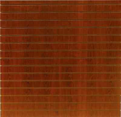 4 X 8 Cherry Color Slatwall Panels