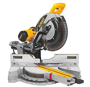 12-inch Double Bevel Sliding Compound Miter Saw w/ Stand