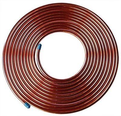 34 Od X 50 Ft Soft Copper Refrigeration Tubing Hvac Made In Usa 34