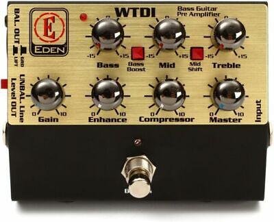 EDEN Wtdi Bass-Preamp/Di