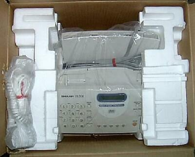 Sharp Ux-300 Fax Machine Refurbished In Box Office Equipment Ux300 Plain Paper