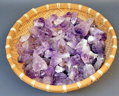 1 KG AMETHYST-SPITZEN + Rohsteine+Edelsteine+Mineralien+Wassersteine+Dekosteine