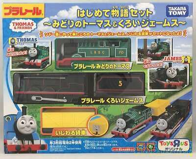 Green Thomas Adventure Begins Black James Plarail Thomas TOMY
