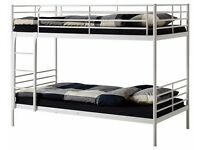 Brand New -- Single Metal Bunk Bed Suitable for both adults and children