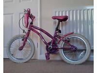 Girl's Apollo Popstar Bicycle Age 5-8